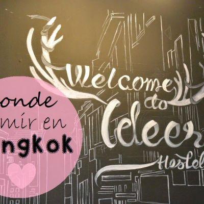 DONDE DORMIR EN BANGKOK: IDEER HOSTEL