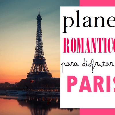 PARIS: 5 PLANES ROMANTICOS