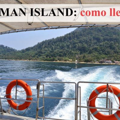 ¿CÓMO LLEGAR A TIOMAN ISLAND?