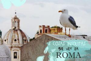 Gaviota y cúpula Roma COSAS INSOLITAS ORIGINALES ROMA