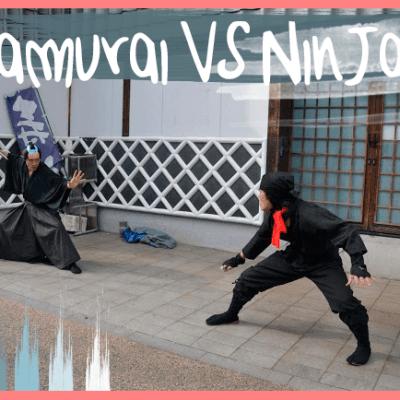 BATALLA EN ASAKUSA! SAMURAI vs NINJA