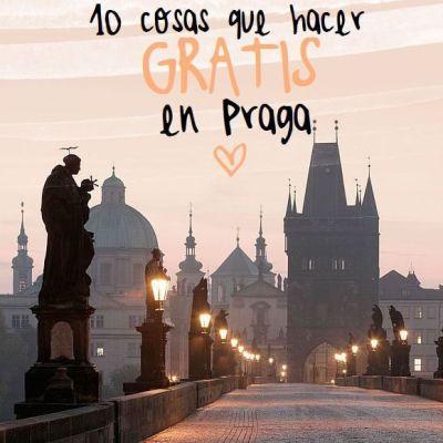 10 COSAS QUE HACER GRATIS EN PRAGA
