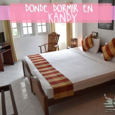 DONDE DORMIR EN KANDY. HOTEL KANDY PARIS
