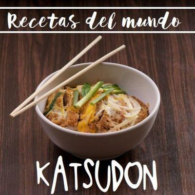 RECETAS DEL MUNDO: KATSUDON