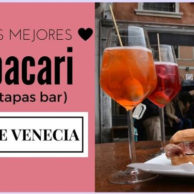 LOS MEJORES BACARI (TAPAS BAR) DE VENECIA