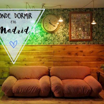 DÓNDE DORMIR EN MADRID: MAD 4 YOU HOSTEL