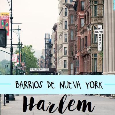 BARRIOS DE NUEVA YORK: HARLEM