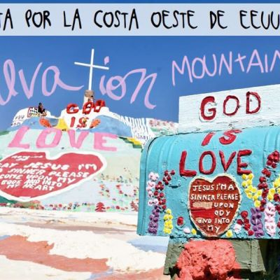 COSTA OESTE DE EE.UU. ETAPA 10: PHOENIX – SAN DIEGO (SALVATION MOUNTAIN)