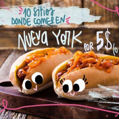10 SITIOS DONDE COMER EN NUEVA YORK BARATO (POR 5$ O MENOS)