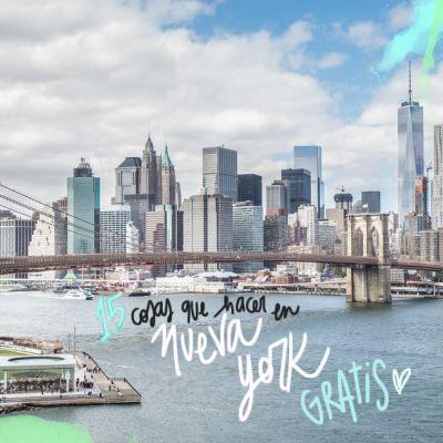15 COSAS QUE HACER EN NUEVA YORK GRATIS
