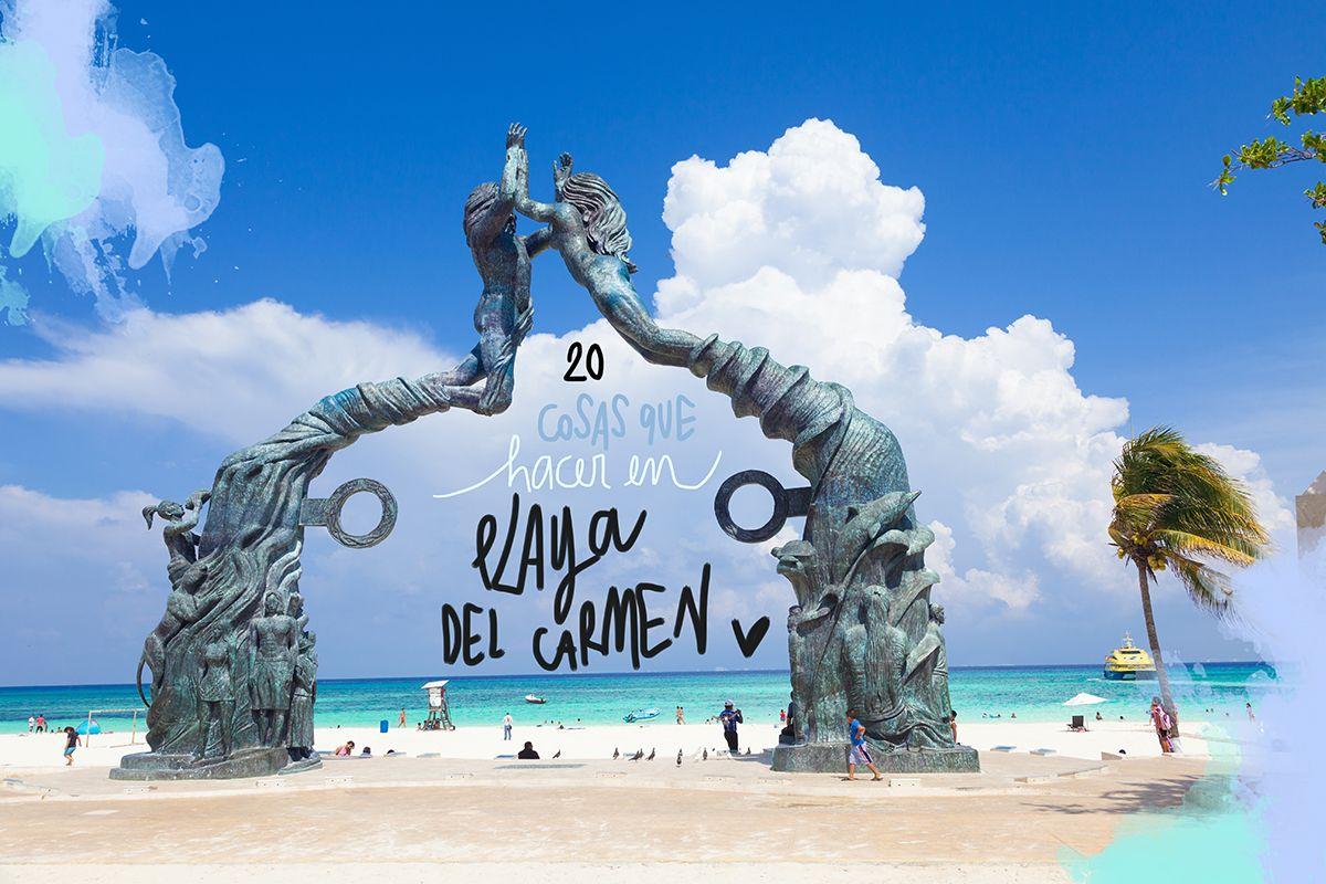 02857cdd46ab4 La gran mayoría de viajeros que visitan la Riviera Maya hacen base en  Cancún o en Playa del Carmen. Los motivos son esencialmente tres  cuentan  con playas ...