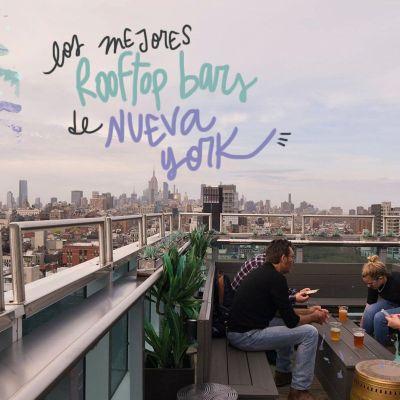 LOS MEJORES ROOFTOP BARS DE NUEVA YORK ¡BARATOS!