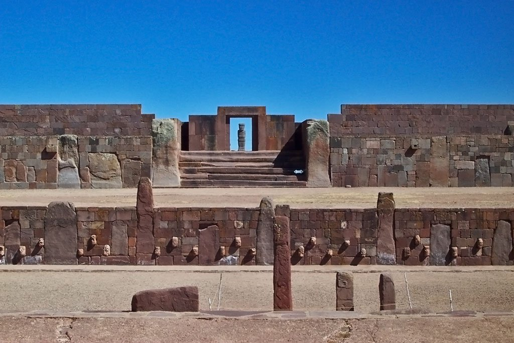 Templo de Kalasasaya - Foto: Wikimedia Commons