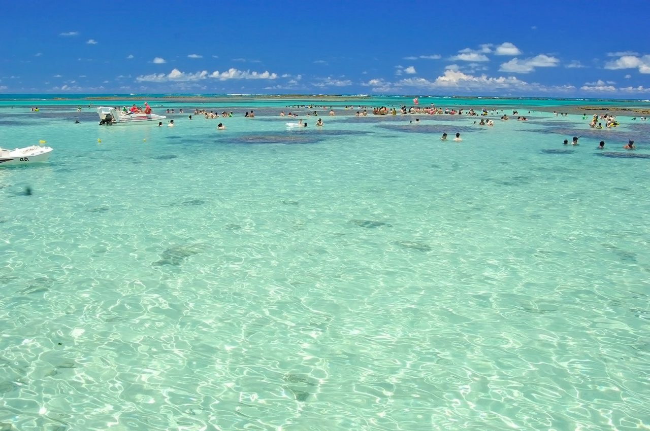 "16 praias brasileiras com mar ""estilo Caribe""!"