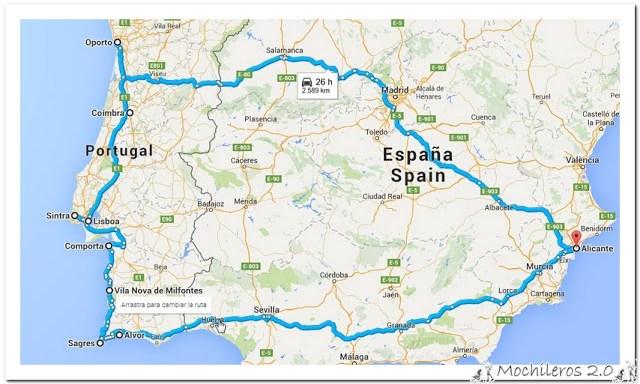 Ruta Portugal