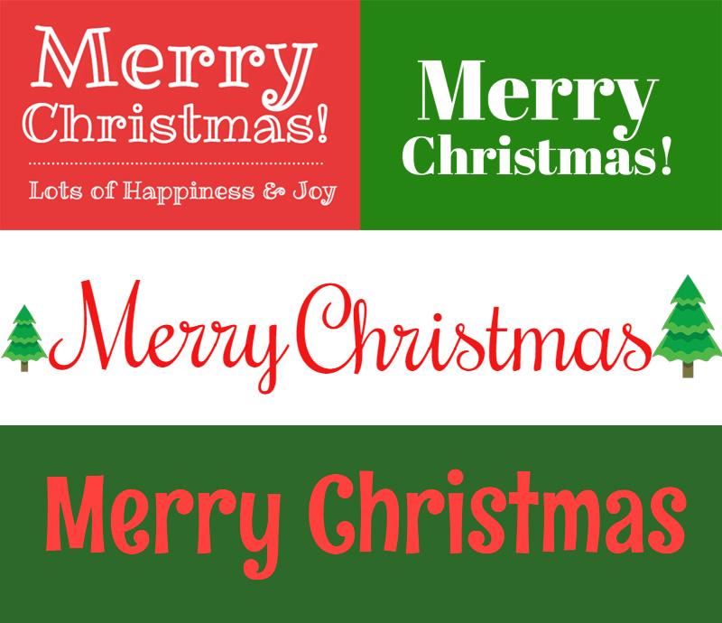 Free Christmas Fonts Mockofun