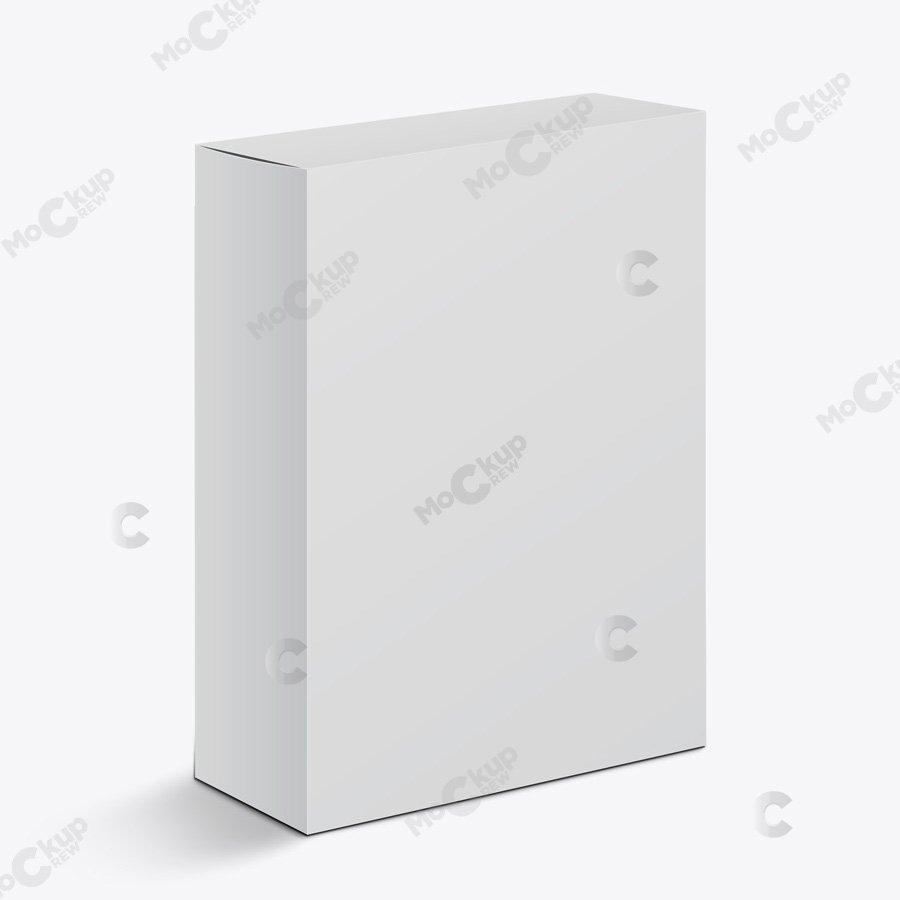 Download Big Rectangle Box Mockup - mockupcrew
