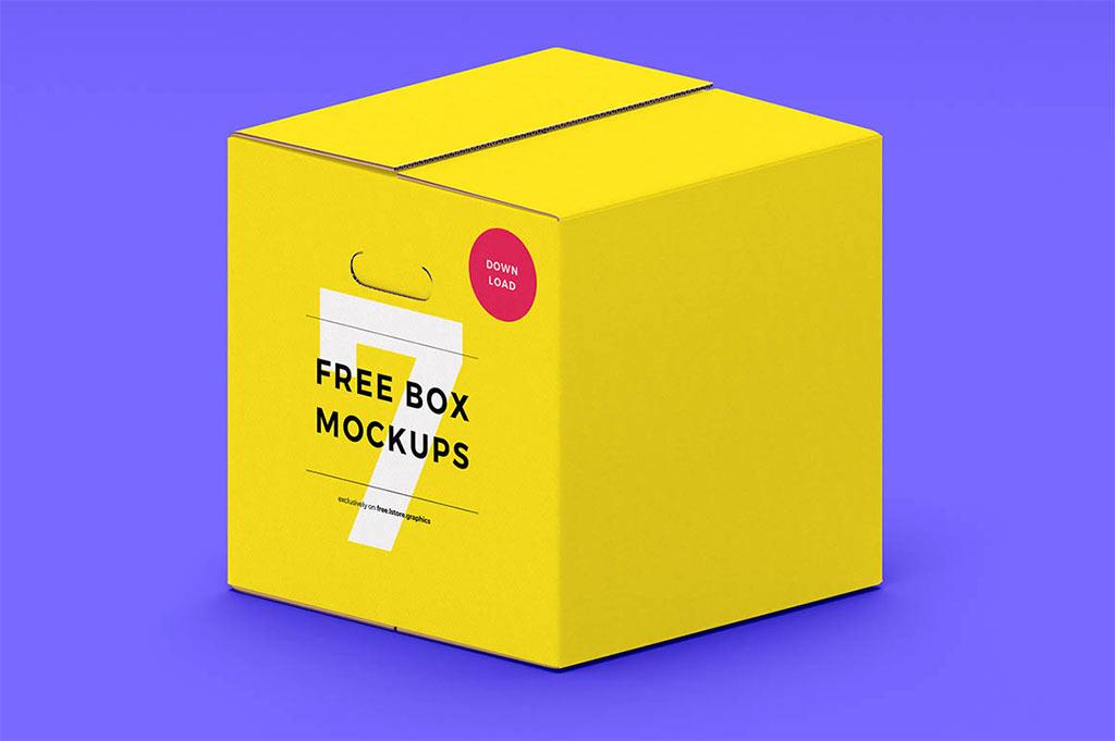 Download Big Box Mockup Bundle | Mockup World