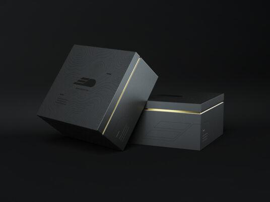 Download Black Boxes Mockup | Mockup World