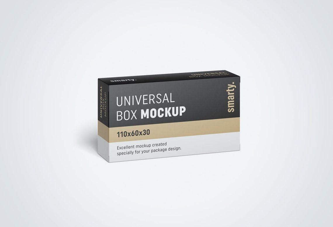 Download Box Packaging Free PSD Mockup | Mockup World HQ