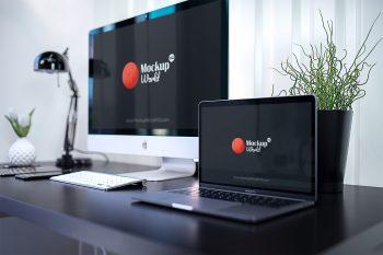 Download Mockup Generator Macbook Yellowimages