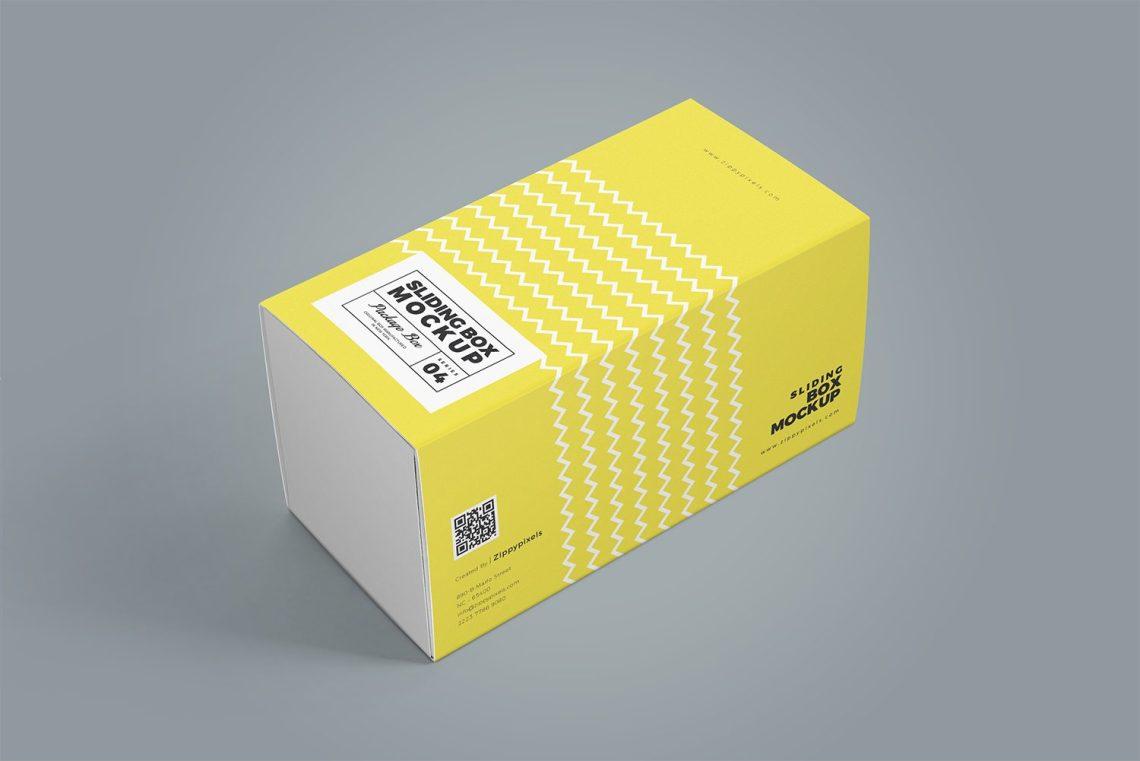 Download 3 Free Cardboard Drawer Box Mockups   Mockup World HQ