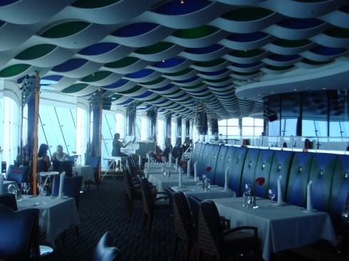Dubai Burj al Arab interior restaurant