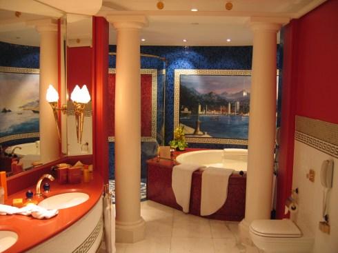 Dubai 7star hotel Burj al Arab interior suite