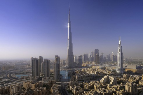 Dubai Burj Khalifa the tallest building in the world