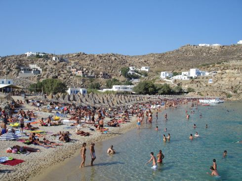 Greece Mykonos super paradise beach