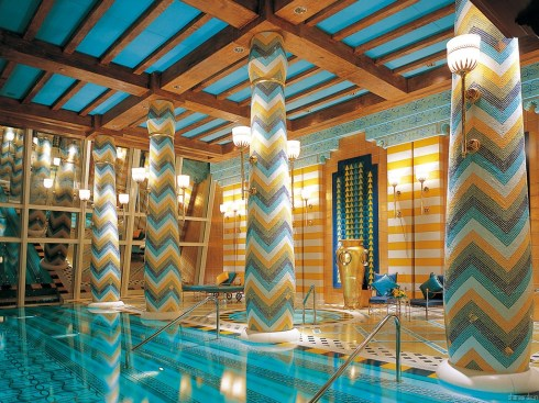 Dubai Burj al Arab suite Royale pool