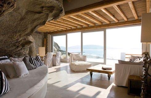 Greece Mykonos island room of Hotel Cavo Tagoo