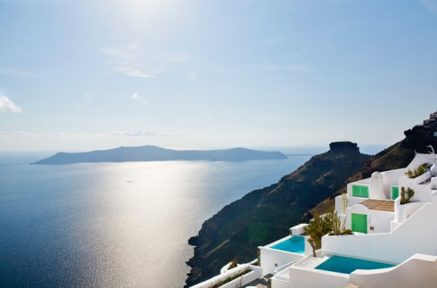 Luxury suits in Greek island Santorini