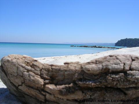 Greece Chalkidiki Kassandra Kallithea beach first peninsula