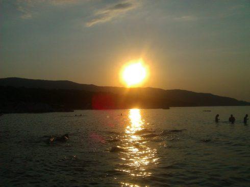 Greece Halkidiki Sithonia Kavourotrupes portokali beach