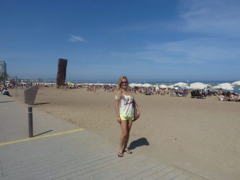 Spain Barcelona beaches barceloneta