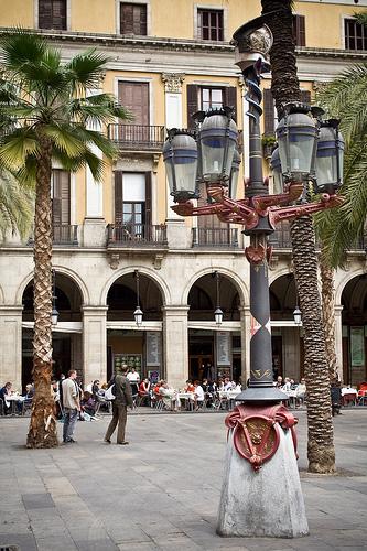 Spain Barcelona placa reial