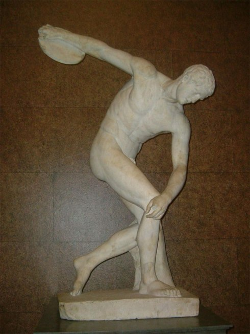 world's most popular statues The Discobolus