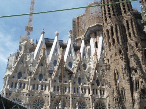 Barcelona Sagrada Familia Antonio Gaudi