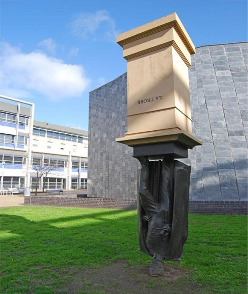 Monument to Charles La Trobe, Melbourne, Australia