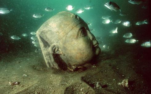 underwater lost cities