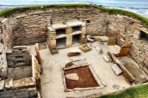 The oldest preserved furnished houses in the world.
