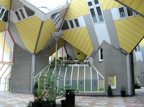bizarre buildings in europe