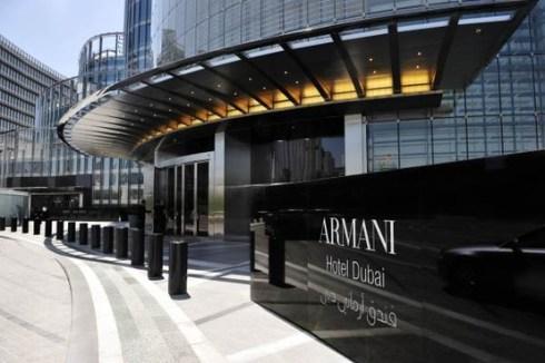 Armani hotel in Burj Khalifa, Dubai