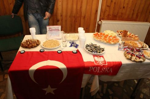 youth in action project traditional turkish, polish food