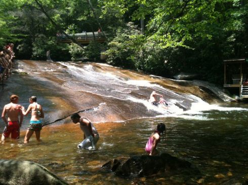 most beautiful natural pools Brevard, North Carolina