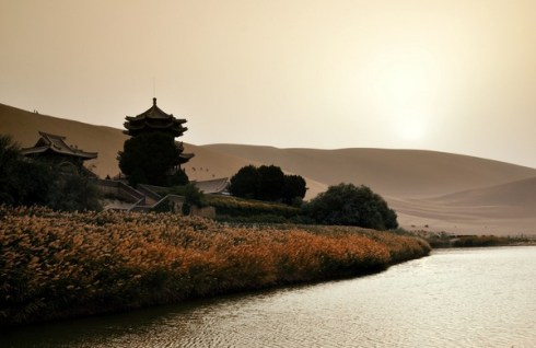 beautiful natural wonder Crescent lake China 8