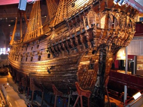 The Vasa  shipwreck, Vasa Museum, S 2tockholm, Sweden