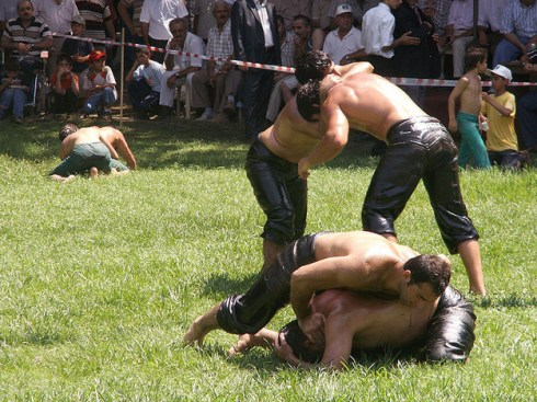 World's most interesting festivals, Kirpinar Oil Wrestling Tournament