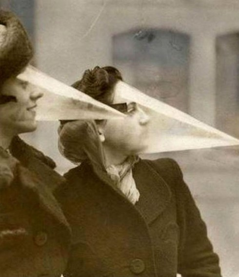 strange inventions from the past, cone face